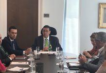 Novo cônsul João Mendes Pereira em entrevista coletiva