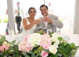 O casal Ana Paula e Joseph