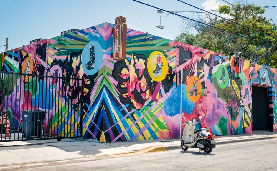 Antes esquecida e mal conversavada, hoje Wynwood é uma das regiões mais interessantes de Miami