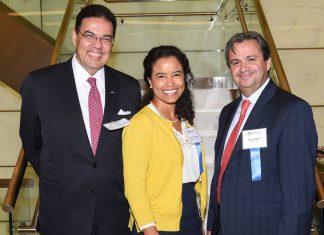 Embaixador João Mendes, Greta Totman e Cassio Segura