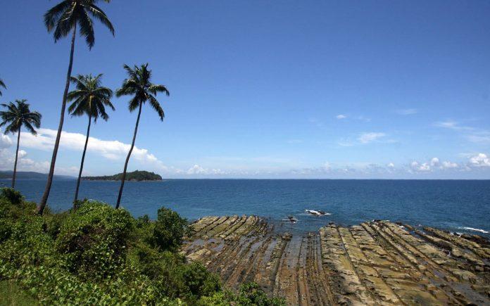 Costa da ilha de Andaman Foto Getty Images - AFP