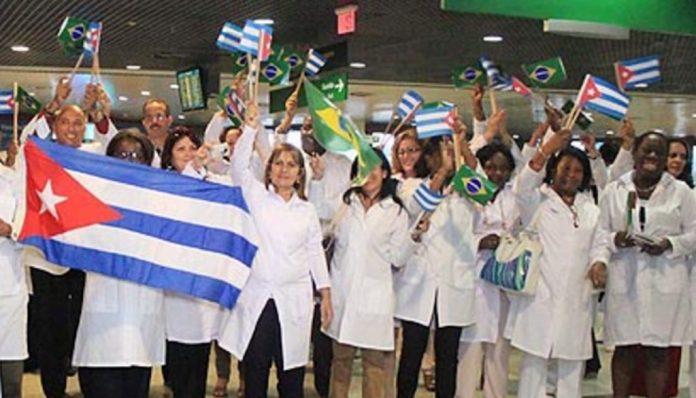 Cubanos trabalham no Brasil desde 2013