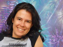 A artista plástica carioca Fabi Cunha