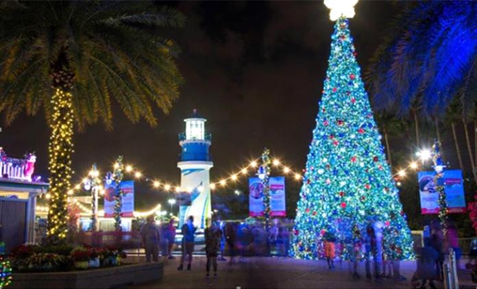 Mais de 3 milhões de luzes vão abrilhantar a celebração natalina no SeaWorld