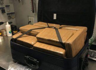 Mala lotada de cocaína foi encontrada no JFK