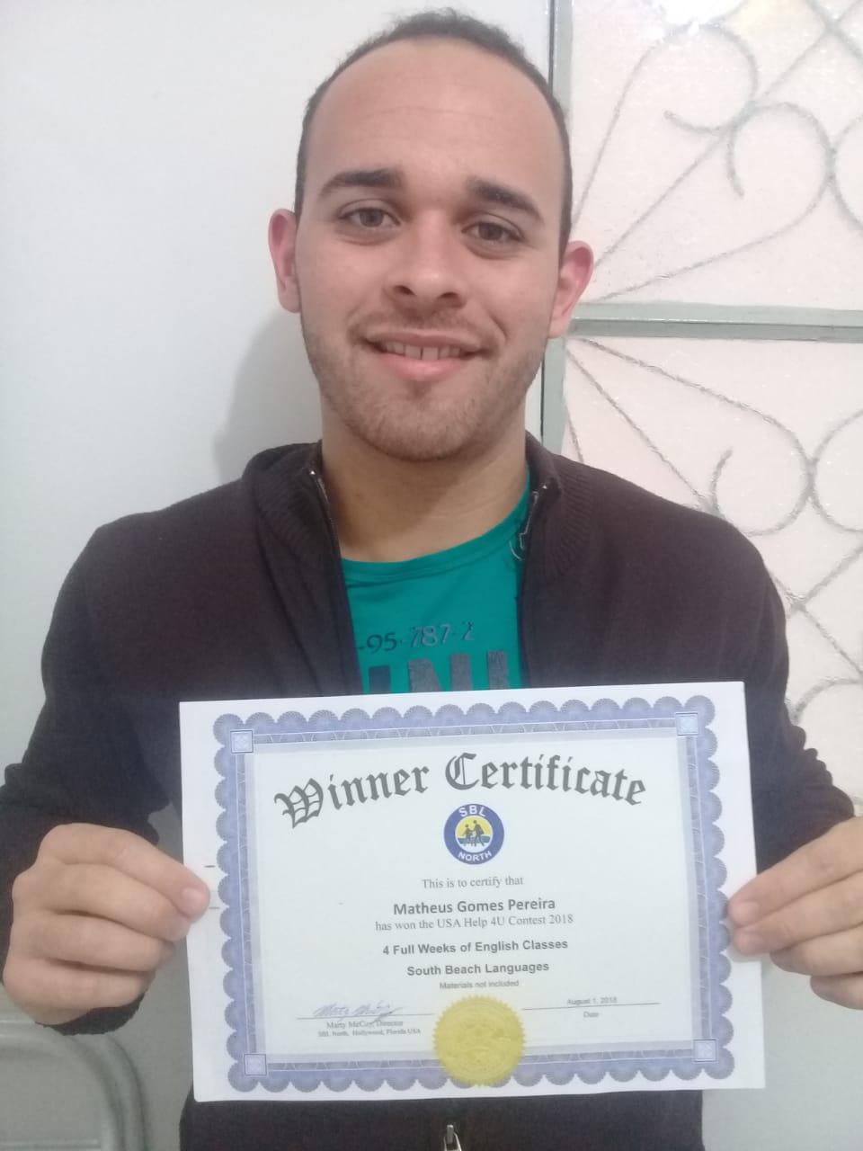 Matheus Gomes - com certificado