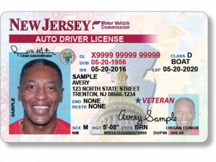 Driver's License de New Jersey