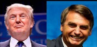 Trump e Bolsonaro são colocados em campos opostos em MA
