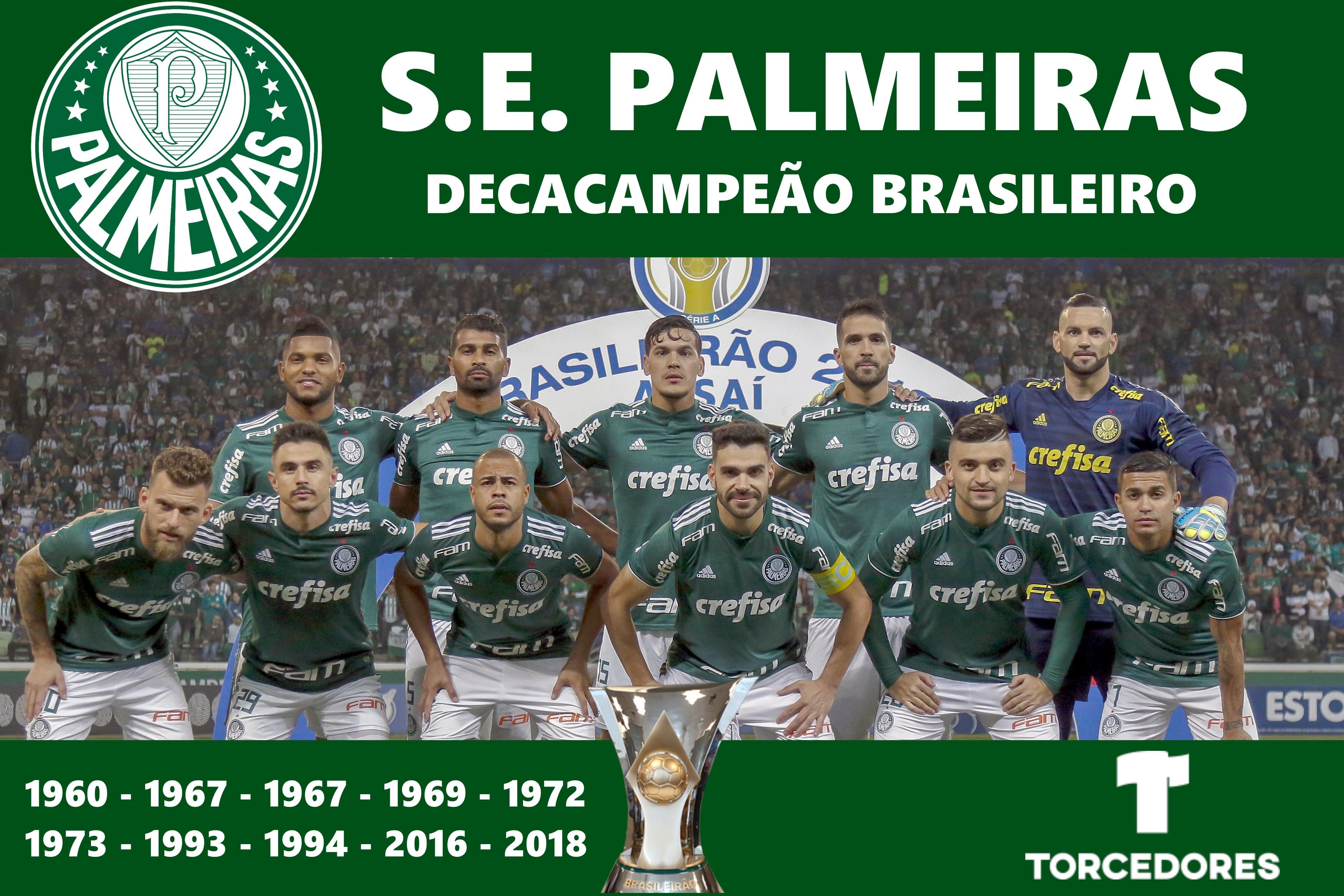Palmeiras Campe U00e3o Deca Ou Hexa AcheiUSA