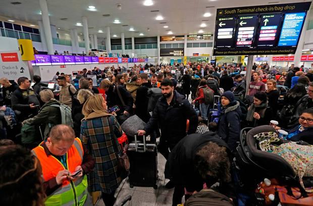 Mais de 20.000 passageiros já foram afetados