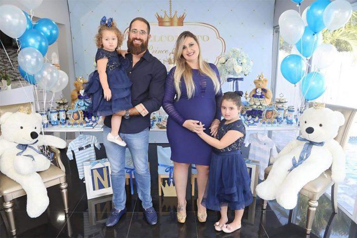 André, Priscilla, Victoria e Sophia