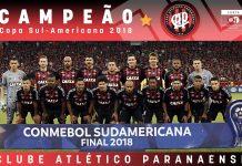 Atlético Paranaense sagrou-se campeão da copa Sul-Americana