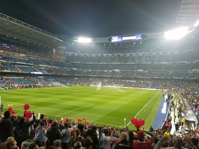 Estádio Santiago Bernabéu sediou a final da Copa Libertadores da América 2018