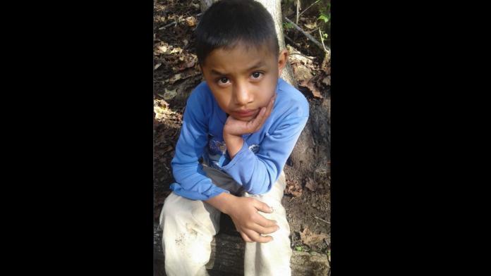 Felipe Gomez Alonso de 8 anos morreu sob custódia do governo