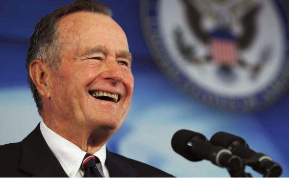 George H W Bush morreu aos 94 anos