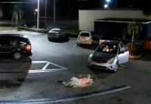 Idosa foi atropelada por ladrão de bolsa