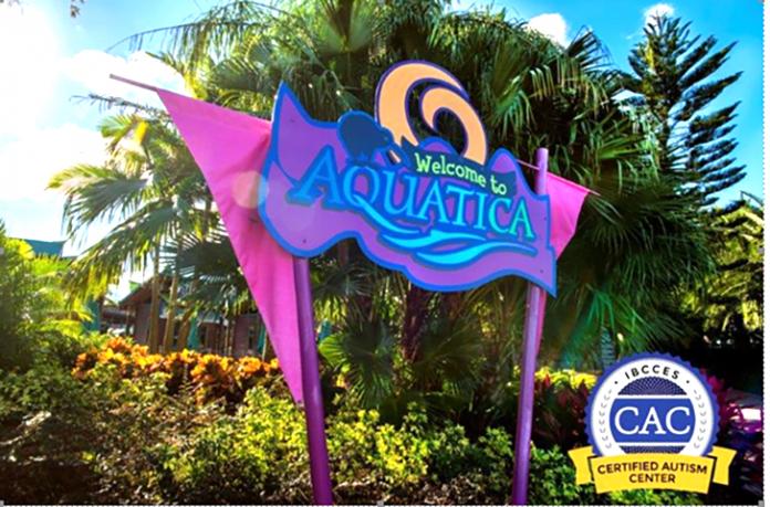 Aquatica Orlando recebe certificação para receber crianças com autismo