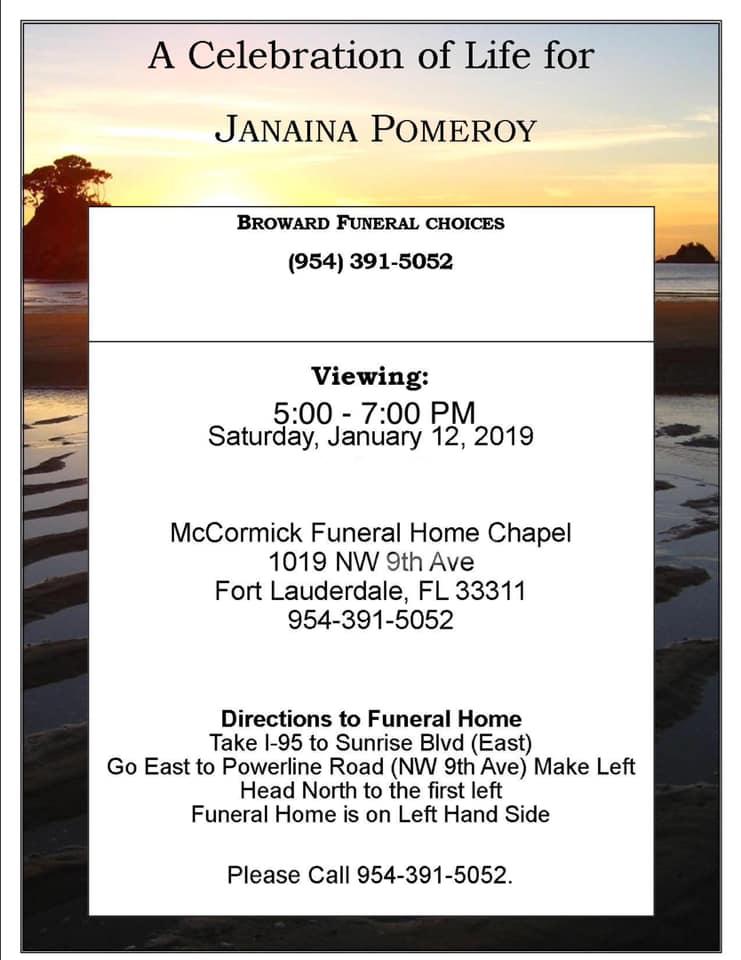 Funeral Janaína