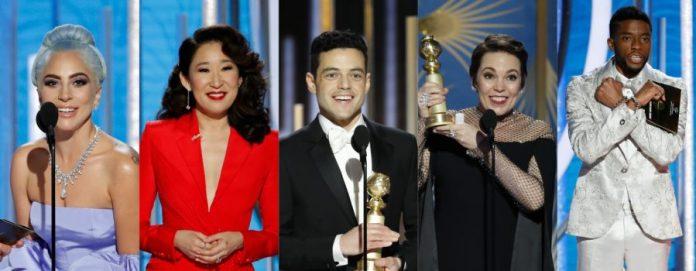 Globo de Ouro 2019 FOTO Reprodução do site Hugo Gloss