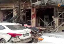 Imagens de câmeras de segurança mostram local do ataque FOTO ANHA via AP