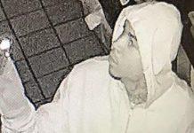Polícia busca ladrão em Broward