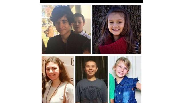 Vítimas do acidente com van a caminho de Orlando Foto Reproducao Alex Madrigal FB