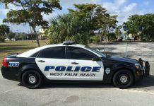 Policial de Palm Beach atropelou casal vendo eclipse