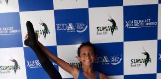 Bernardo tem o sonho de dançar balé nos EUA