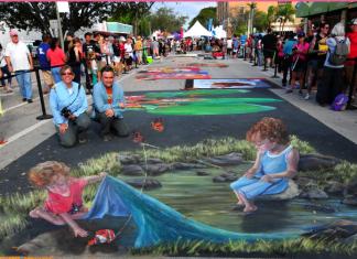 Festival de arte acontece nas ruas de Lake Worth este fim de semana (Foto: Robert Dreverman)