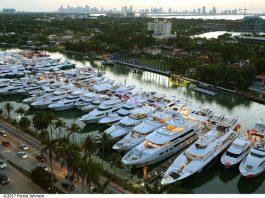O novo espaço do Miami Yacht Show está localizado no One Herald Plaza, entre a MacArthur e Venetian Causeways em Biscayne Bay (Foto: Forest Johnson)
