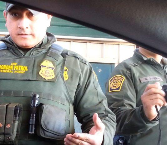Oficial do Border Patrol