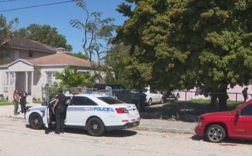 Incidente aconteceu na frente de uma casa na Northwest 40th Street, em Miam