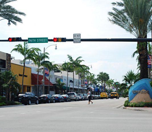 Surfsinde fica entre Miami Beach e Bal Harbour
