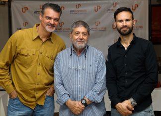 Marcos Munhoz, Lineu Vitale e Rodrigo Stegani