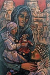 """""""Refugiados"""", um dos trabalhos mais recentes de Pedro Lázaro"""