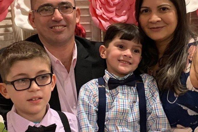 Marcos Medeiros morreu em acidente deixando esposa e dois filhos FOTO GoFundMe