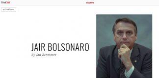 Jair Bolsonaro integra lista da revista TIME Foto Daniel Marenco