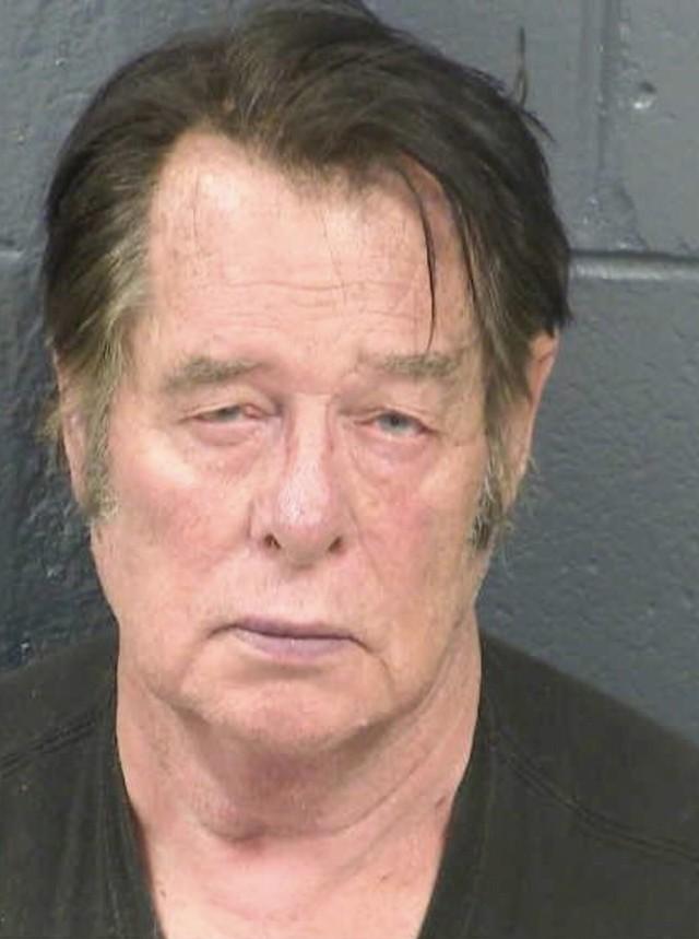 Larry Hopkins, acusado de liderar milícia contra imigrantes ilegais nos EUA — Foto Dona Ana County Detention Center