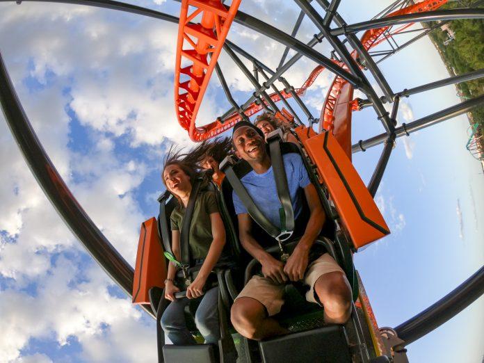 Nova montanha-russa do Busch Gardens Tigris