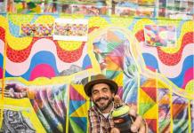 Obras de Kobra foram vendidas antes mesmo do início da exposição em Miami (Foto: Reprodução Instagram)