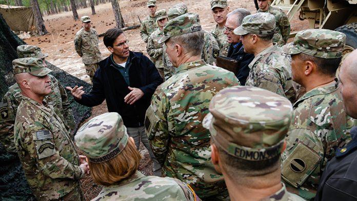 O Pentágono vai construir os campos em apoio e a pedido do Departamento de Segurança Interna (DHS)