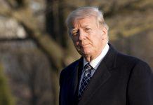 Trump deixou a sala de reuniões depois de apenas três minutos