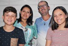 Família viajou ao Chile para celebrar aniversário da filha (Foto: arquivo pessoal)