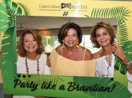 Gloria Johnson, Adriana Sabino e Maria Inês Dal Borgo