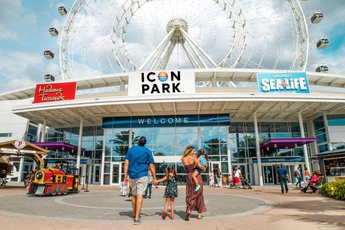 Icon Park é uma das atrações em Orlando (Foto: Divulgação)