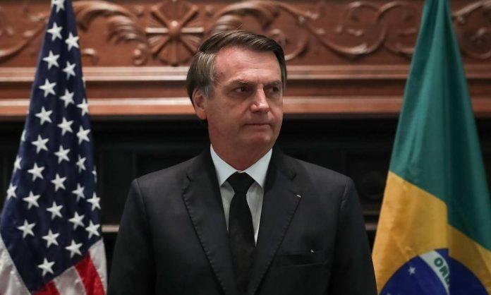 Jair Bolsonaro é premiado no Texas FOTO Marcos Corrêa - Presidência da República