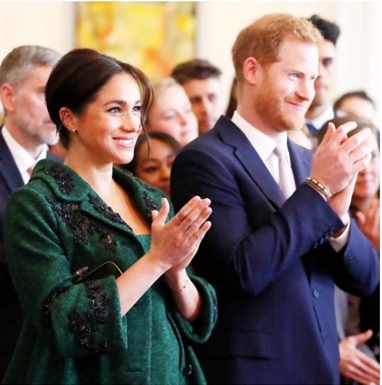 Meghan deu à luz um menino em Londres FOTO Instagram oficial sussexroyal