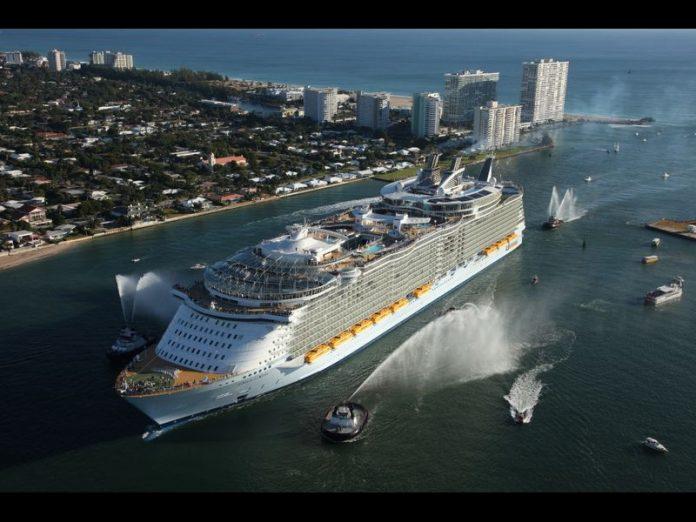 Oasis of the Seas vai passar por reforma completa (FOTO Divulgação Royal Caribbean)