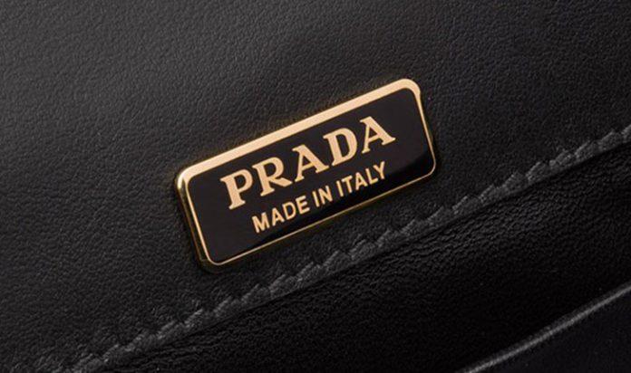 A grife italiana Prada