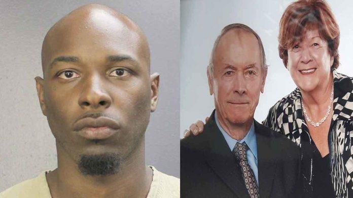 Quinton Johnson foi preso acusado de matar casal de canadenses em Pompano Beach FOTO Divulgação BSO/Local10News
